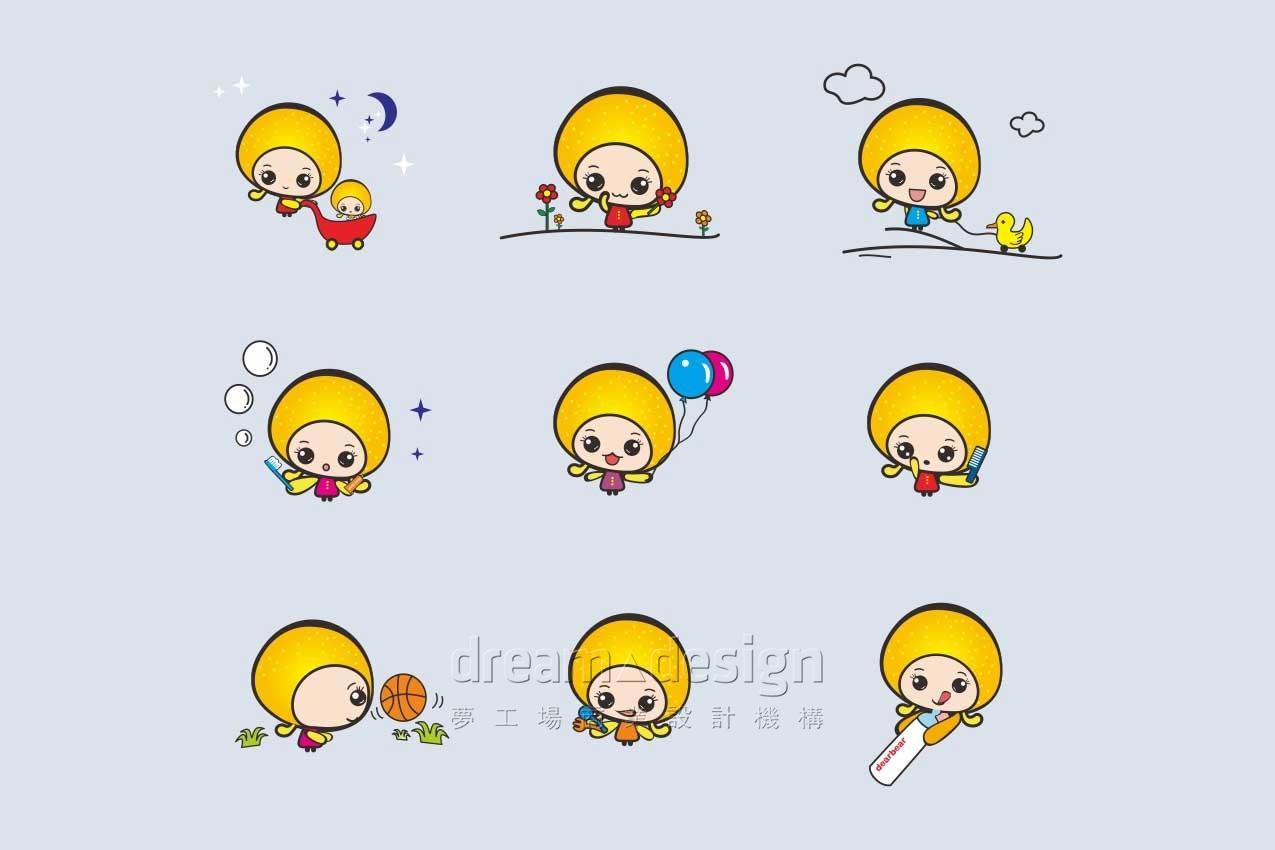 母爱之家卡通形象
