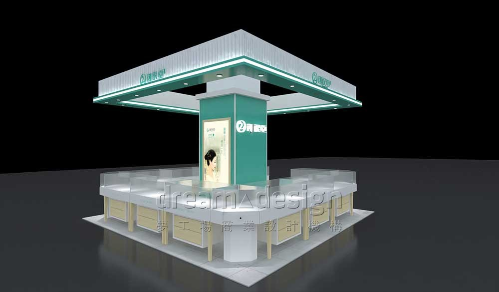 创银堂展厅设计1