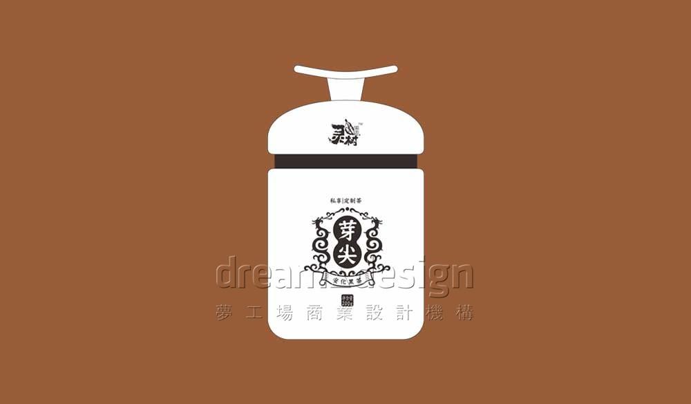 黑茶产品包装设计图1