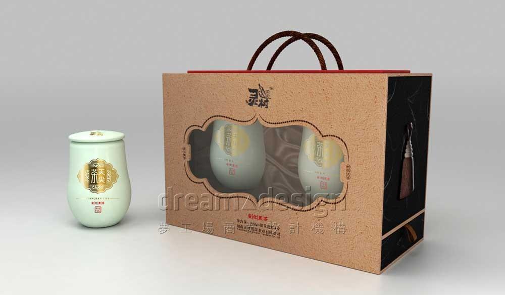 茶叶产品包装效果图2