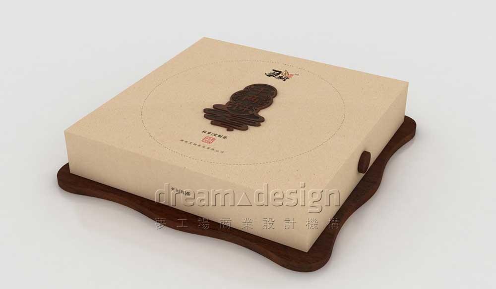 饼茶包装设计图1