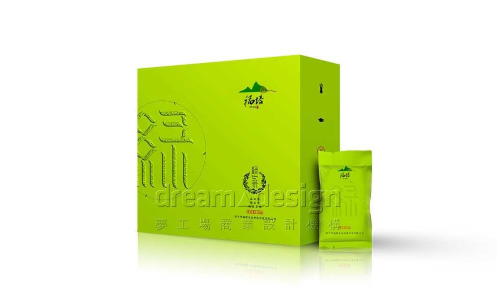 福塔绿茶产品包装设计图1