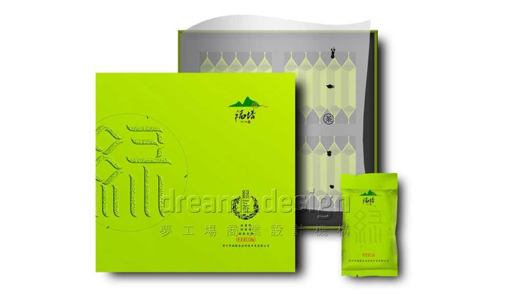 福塔绿茶产品包装设计图2