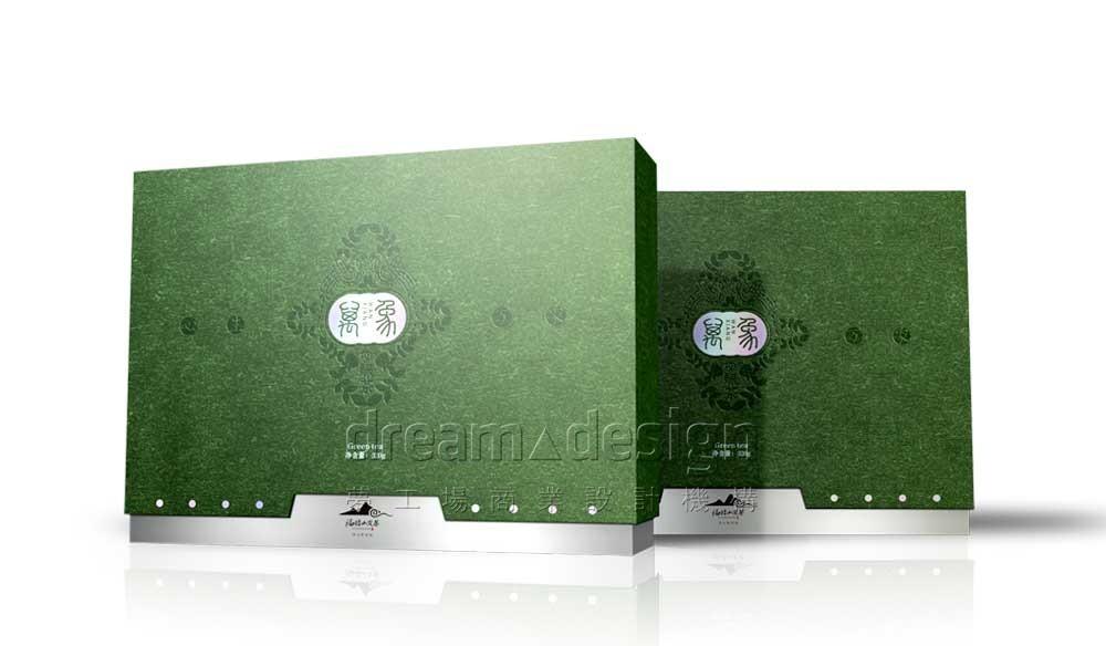 绿茶产品包装效果图1