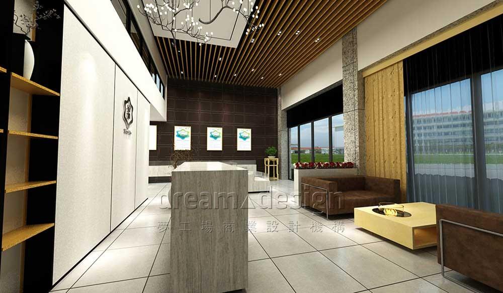 仙湖甲鱼展厅设计效果图1