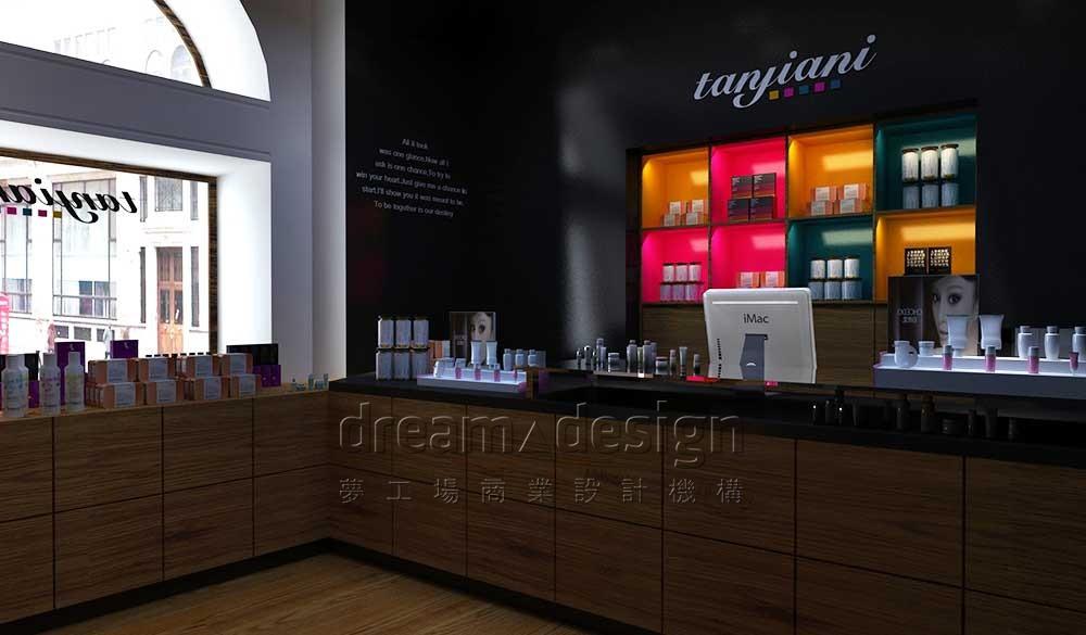 佳妮化妆品店面设计图2