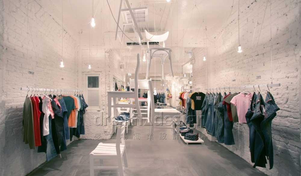 ACTUALLY服装-店面设计