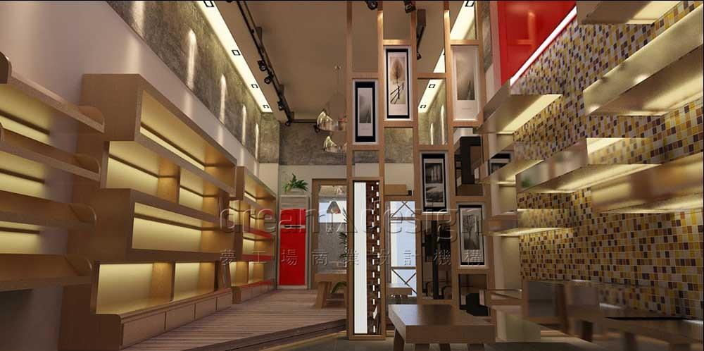 天基鞋业店面设计图1