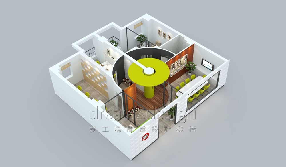 欧派门业办公室设计图2