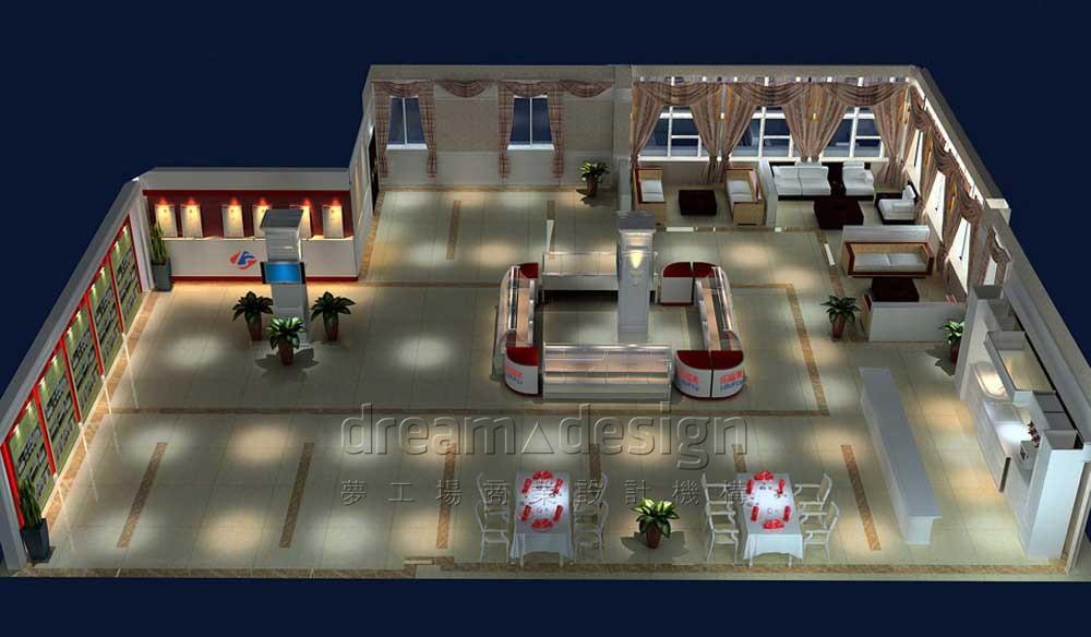 乐福来展厅设计3