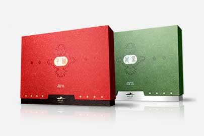 红茶绿茶包装设计