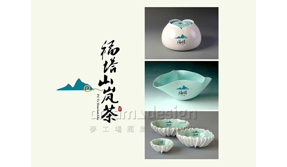 福塔茶具设计图