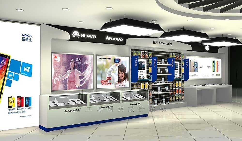 手机专卖连锁店设计图2