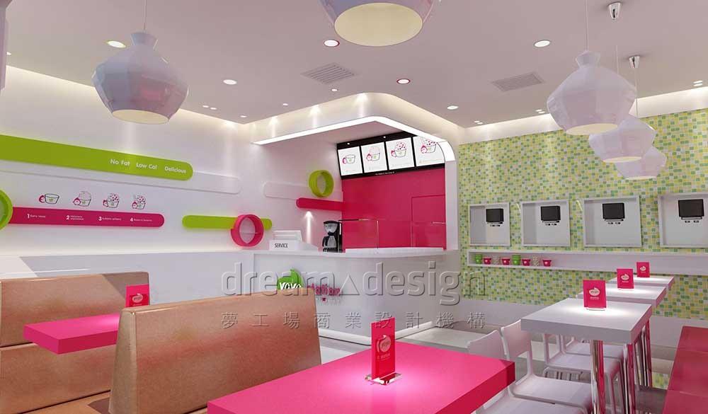 YOYO冰淇淋店面设计1