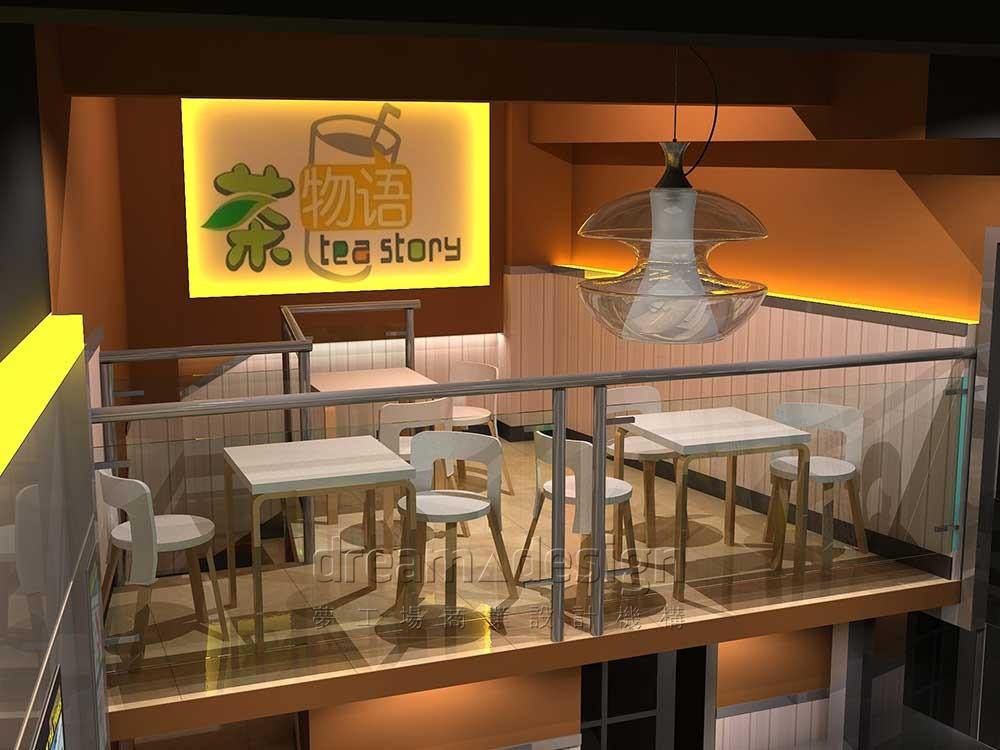 茶物语店面设计图2