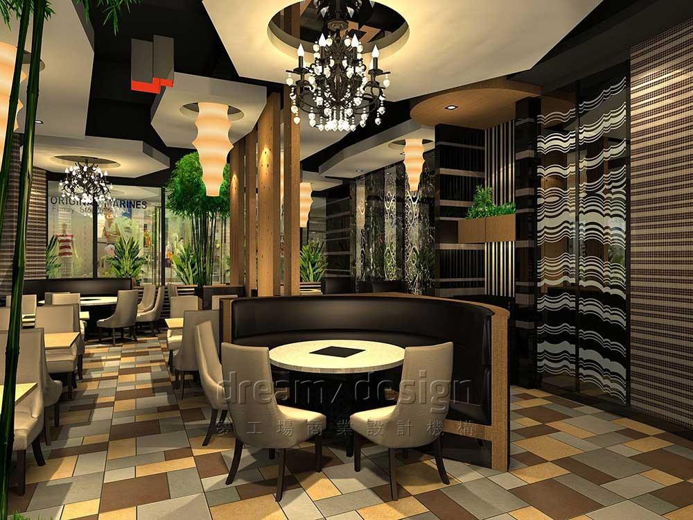 味食尚餐厅设计