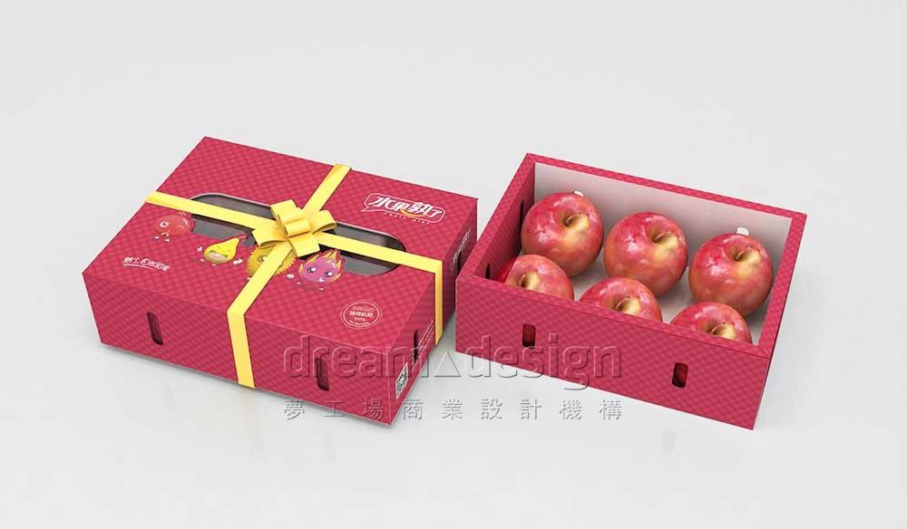 水果熟了苹果包装设计5