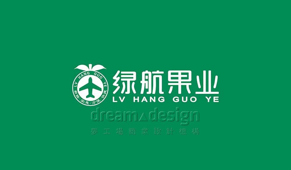 绿航果业LOGO