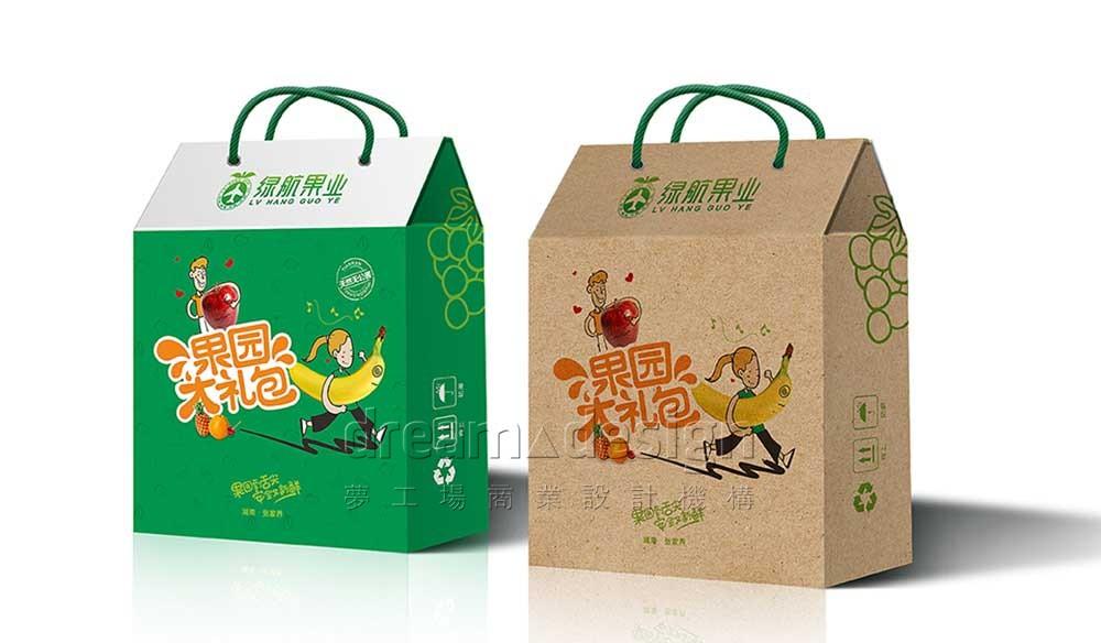 绿航果业礼品袋