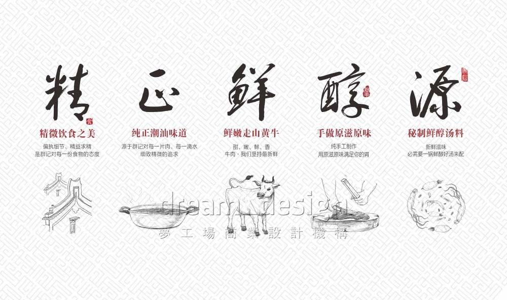 群记潮汕牛肉火锅制作过程