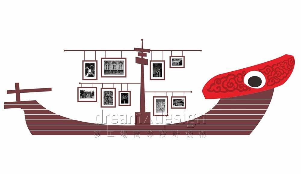 群记潮汕牛肉火锅文化墙设计