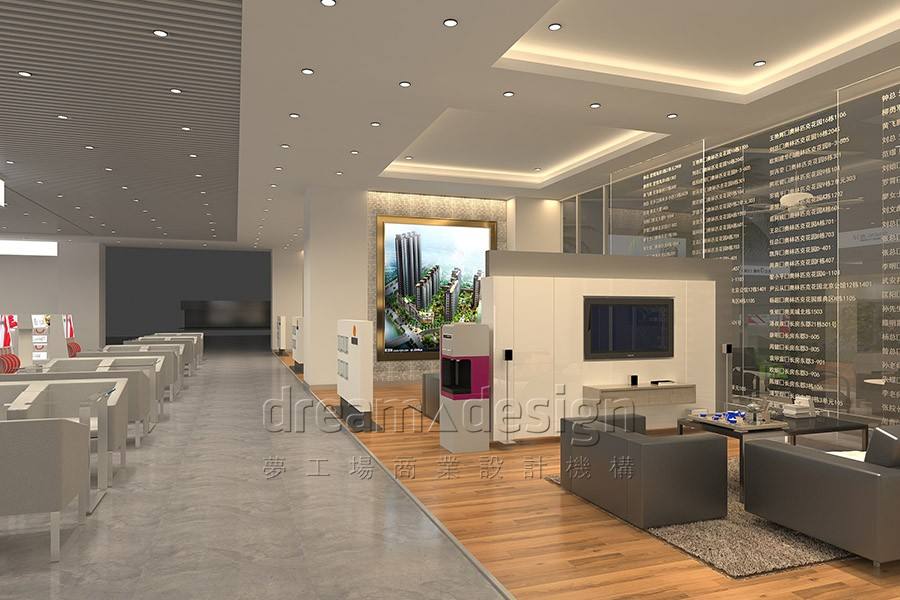 怡生供暖展厅设计图3