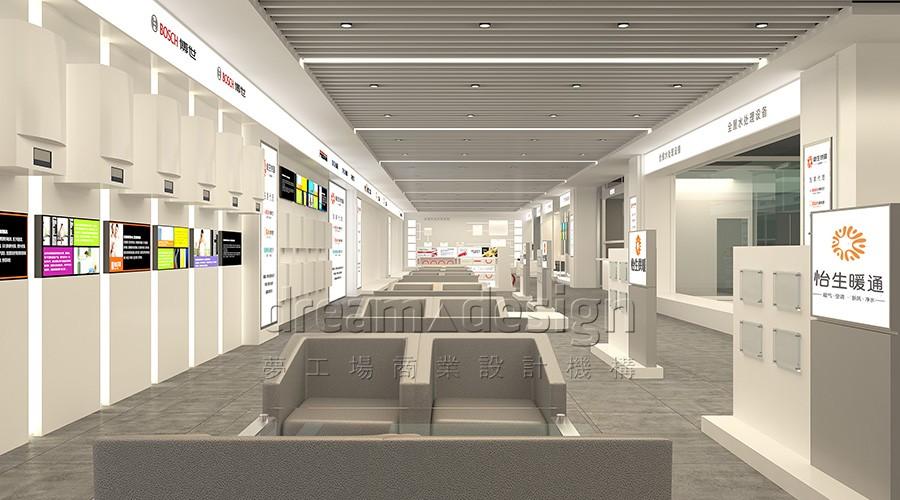 怡生暖通-展厅设计